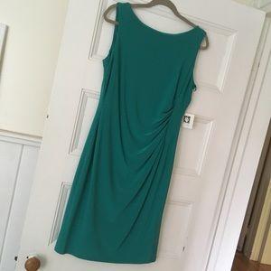 Anne Klein Rouched Sheath Dress - Size 12